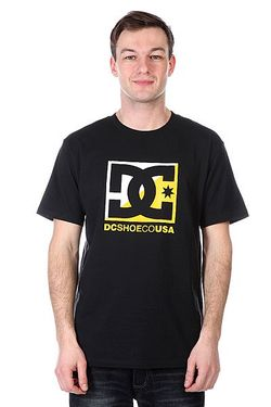 Футболка Dc Crosscloud Tees Black Dcshoes                                                                                                              чёрный цвет