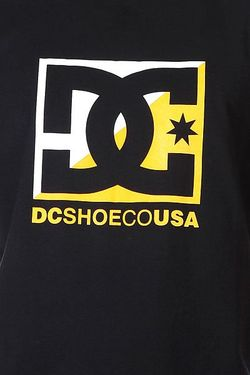 Футболка Dc Crosscloud Tees Black Dcshoes                                                                                                              черный цвет