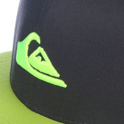 Бейсболка Stuckles Hats Tarmac Quiksilver                                                                                                              чёрный цвет