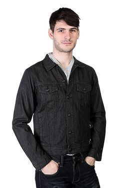 Куртка Джинсовая Dead Water Black Anthracite Quiksilver                                                                                                              чёрный цвет
