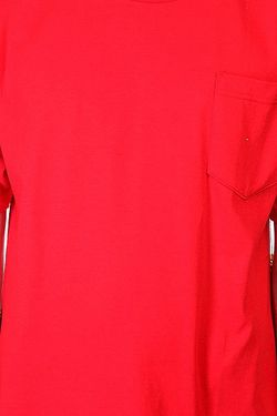 Футболка Big Paper Pocket Red Cliche                                                                                                              красный цвет