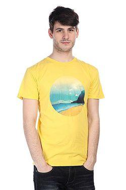 Футболка Lost Horizon Yellow Altamont                                                                                                              желтый цвет