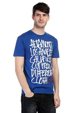 Футболка Approved Oldy Tee Blue Altamont                                                                                                              синий цвет