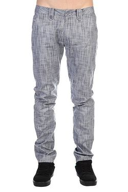 Штаны Прямые Dapper Chino Pant Dark Blue Circa                                                                                                              синий цвет