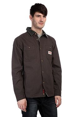 Рубашка Утепленная Flintlock L/S Dark Grey Altamont                                                                                                              серый цвет