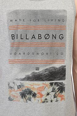 Майка Agent Sg Grey Heather Billabong                                                                                                              серый цвет