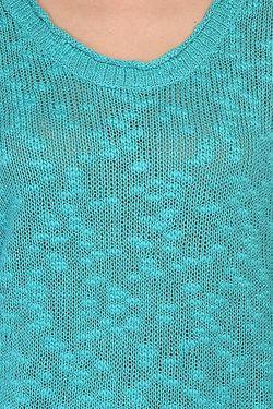 Свитер Женский Doheny J Swtr Baltic Blue Roxy                                                                                                              голубой цвет