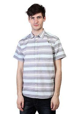 Рубашка Pemberton Greyblue Quiksilver                                                                                                              синий цвет