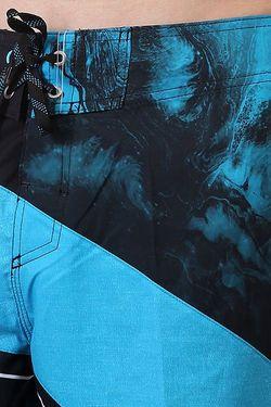 Шорты Пляжные Spaceintersect Blue/Black/White Quiksilver                                                                                                              голубой цвет