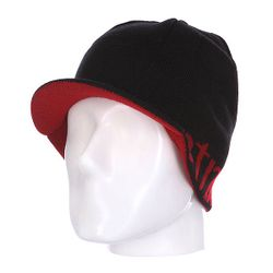 Шапка С Козырьком Breadwinner Visor Beanie Black/Red Etnies                                                                                                              None цвет