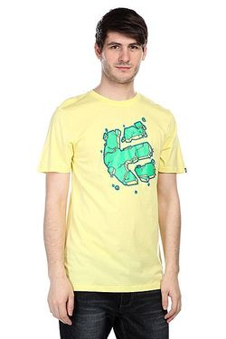 Футболка Nice Shot S/S Tee Light Yellow Etnies                                                                                                              желтый цвет
