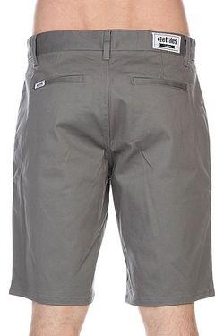 Шорты Classic Slim Chino Short Grey Etnies                                                                                                              серый цвет