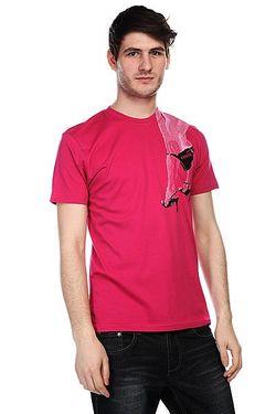Футболка Easy Ruby Globe                                                                                                              розовый цвет
