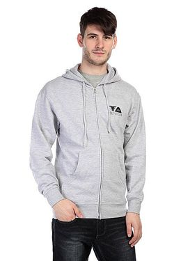 Толстовка Poler X Zip Hood Heat Grey/Black Fallen                                                                                                              серый цвет