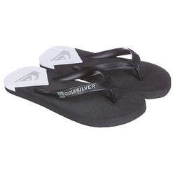 Шлепанцы Molokai New Wav Black/White Quiksilver                                                                                                              чёрный цвет