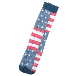 Носки Высокие 1pr Frontbrded Knit American C Quiksilver                                                                                                              синий цвет