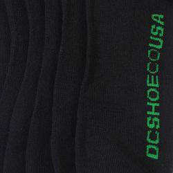 Носки Высокие Dc 3pk Rasta Black/Mixed Logo Dcshoes                                                                                                              черный цвет