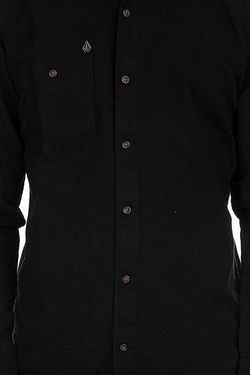 Рубашка Oxford Ls Black Volcom                                                                                                              черный цвет