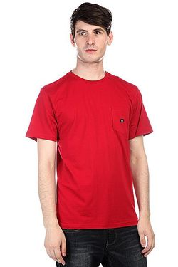 Футболка Dc Basic Pocket T Jester Red Dcshoes                                                                                                              синий цвет