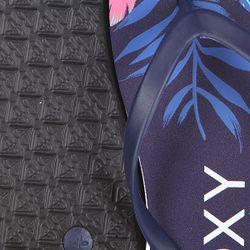 Шлепанцы Женские Bamboo J Ink Blue Roxy                                                                                                              синий цвет