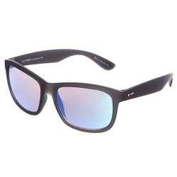 Очки Poseur Soft Charcoal Satin/Ice Blue Chrome Dot Dash                                                                                                              чёрный цвет