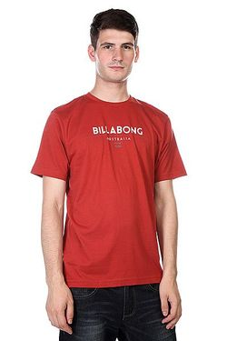Футболка Flashback Red/Orange Billabong                                                                                                              красный цвет