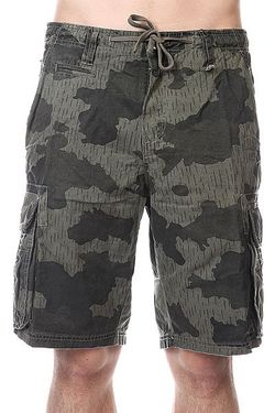 Шорты New Order Cargo Camo Billabong                                                                                                              черный цвет
