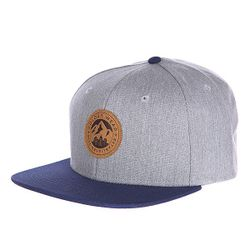 Бейсболка Badge Cap Grey Melange Clwr                                                                                                              синий цвет