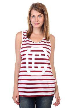 Майка Женская Banger Tank Top Burgundy Stripe Clwr                                                                                                              белый цвет