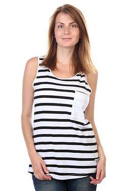 Майка Женская Wp Tank Top Black Stripe Clwr                                                                                                              чёрный цвет