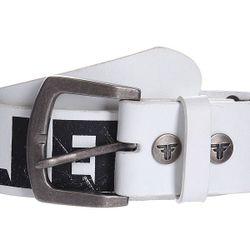 Ремень Guitar Strap Belt White Fallen                                                                                                              черный цвет