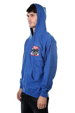 Толстовка Fleece Zip Hello Royal Osiris                                                                                                              синий цвет