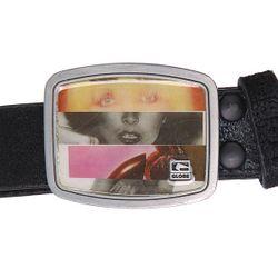 Ремень Wench Belt Black/Slice Of Life Globe                                                                                                              чёрный цвет
