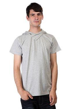 Футболка Hood Grey Melange Clwr                                                                                                              серый цвет