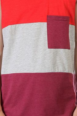 Майка Pouch Tank Burgundy Melange Clwr                                                                                                              красный цвет