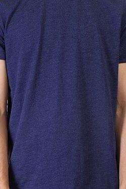 Футболка Solid Patriot Melange Clwr                                                                                                              синий цвет