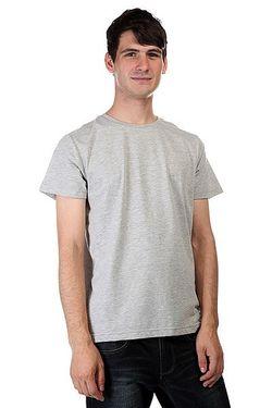 Футболка Solid Grey Melange Clwr                                                                                                              серый цвет