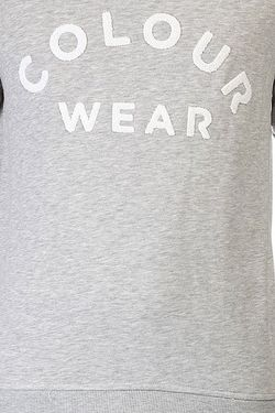 Толстовка Colour Crew Grey Melange Clwr                                                                                                              серый цвет