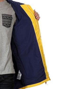 Куртка Парка Bohus Burst Clwr                                                                                                              желтый цвет