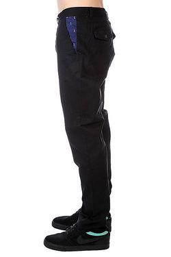 Штаны Прямые Gubb Chino Black Clwr                                                                                                              чёрный цвет