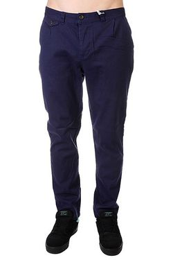Штаны Прямые Gubb Chino Patriot Blue Clwr                                                                                                              синий цвет