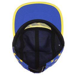 Бейсболка Пятипанелька Hell Track Volley Yellow/Blue Huf                                                                                                              желтый цвет