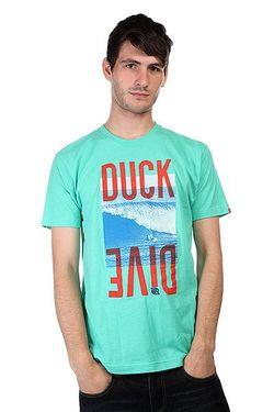 Футболка Duck Dive Mint Lost                                                                                                              зелёный цвет