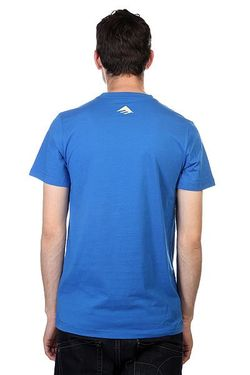 Футболка Pure 12 Tee Blue Emerica                                                                                                              синий цвет