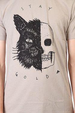 Футболка Skull Cat Grey Emerica                                                                                                              серый цвет
