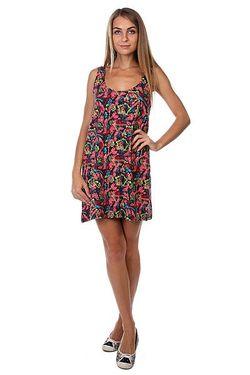 Платье Женское Flower Black Insight                                                                                                              многоцветный цвет