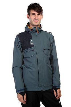 Куртка Утепленная Moto Jacket Orion Blue Holden                                                                                                              синий цвет