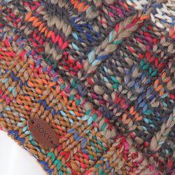 Шапка С Помпоном Женская Sea Bank Walnut Roxy                                                                                                              многоцветный цвет