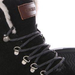 Кеды Кроссовки Утепленные Jax Black/Grey Quiksilver                                                                                                              чёрный цвет