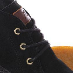 Кеды Кроссовки Высокие Marquez Xkkc Black/Brown Quiksilver                                                                                                              чёрный цвет